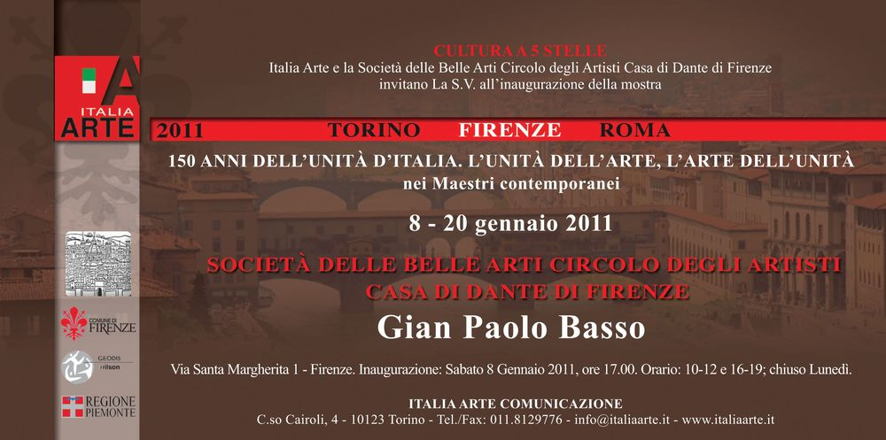 150 anni dell'unità d'Italia. L'unità dell'arte, l'arte dell'unità