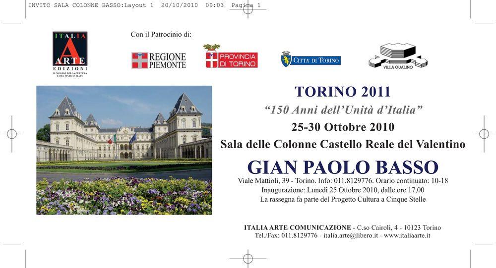 """Torino 2011 – """"150 Anni dell'Unità d'Italia"""""""